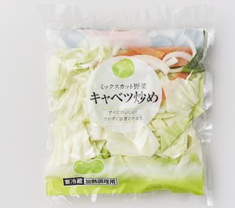 キャベツ野菜炒め